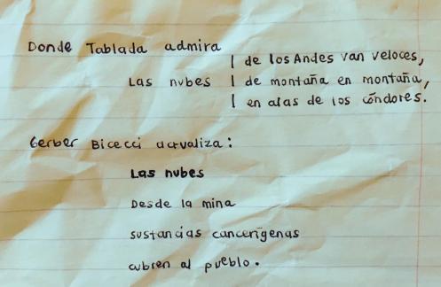 Tablada y Gerber Bicecci LAS NUBES
